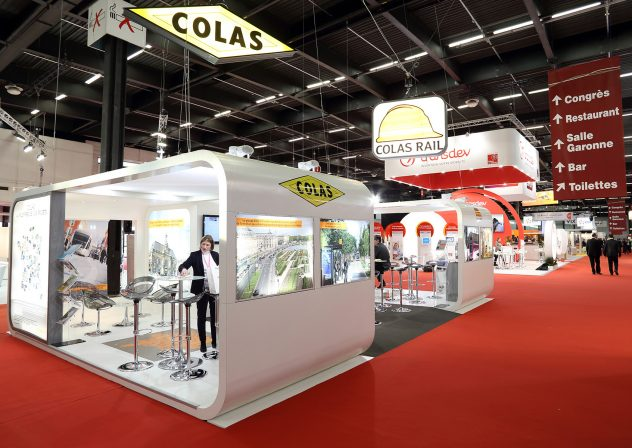 stand COLAS - COLAS RAIL
